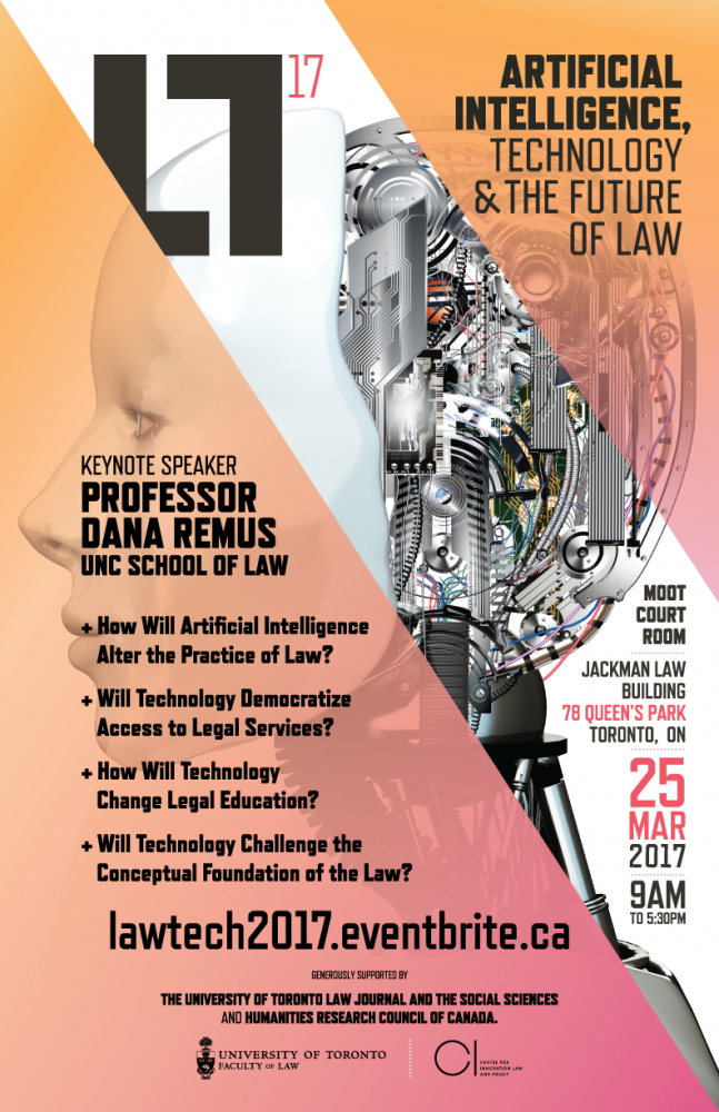 Artificial Intelligence, Technology and the Future of Law | Centre